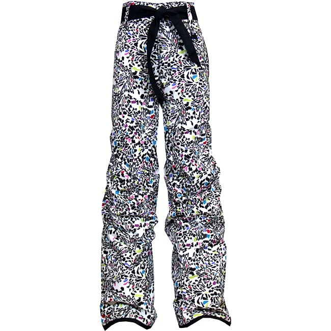 Boulder Gear Girl's 'Fly By' Black Shatter Print Snow Pants