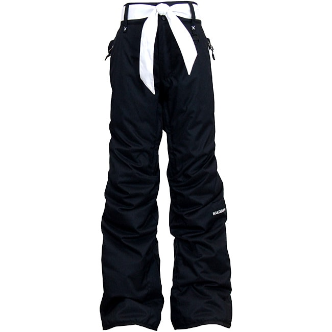 Boulder Gear Children's 'Fly By' Black/ White Snow Pants