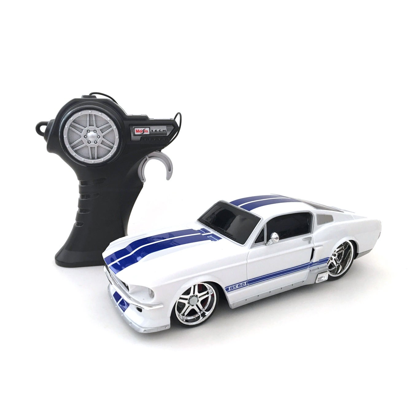 Maisto Ford Mustang GT (R/B) Remote Control Car (1:24 Rem...