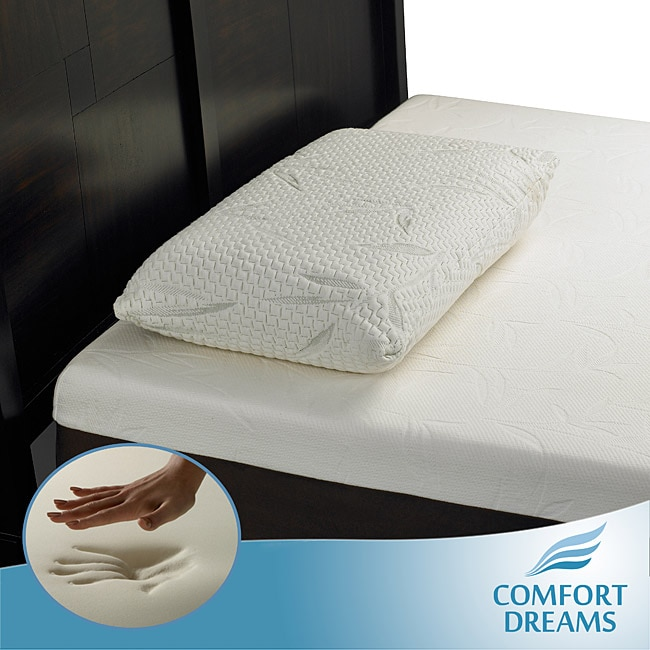 Comfort Dreams King-size Molded Memory Foam Pillow