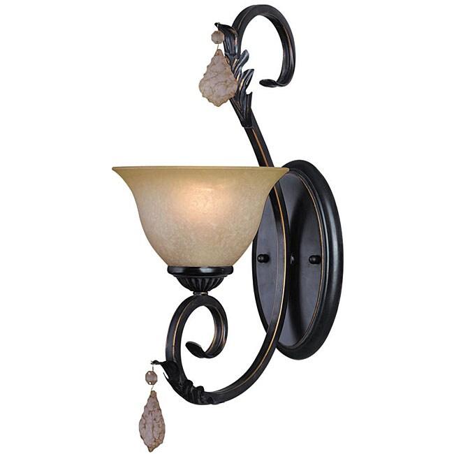 Woodbridge Lighting Firenza 1-light Colonial Bronze Bath Sconce