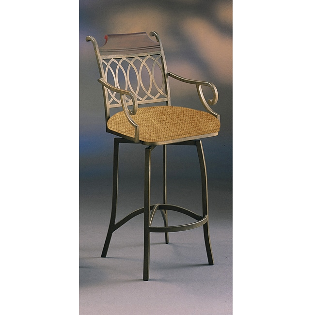 Lexington 30 Inch Swivel Bar Stool With Arms Free