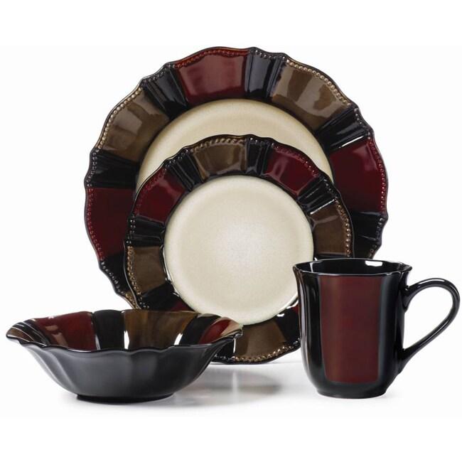 Mikasa Gourmet Basic Valencia 16-piece Dinnerware Set