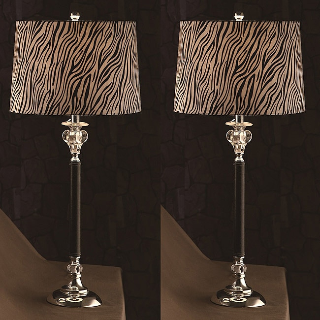 Shop Calvin 31 Inch Table Lamps Set Of 2 Free Shipping