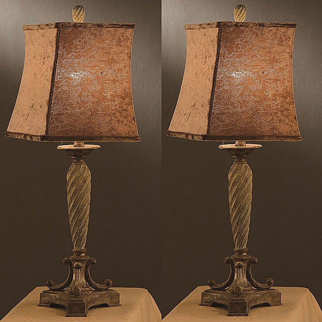 St. Tropez 34-inch Table Lamps (Set of 2)