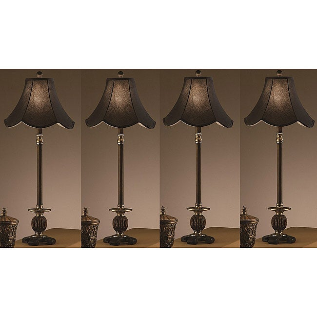 Maclin 33-inch Table Lamps (Set of 4)