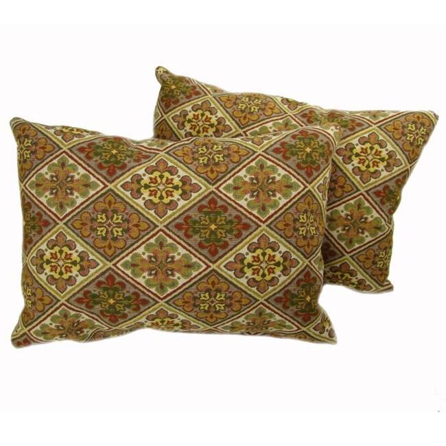 Triangles Throw Pillows (Set of 2)