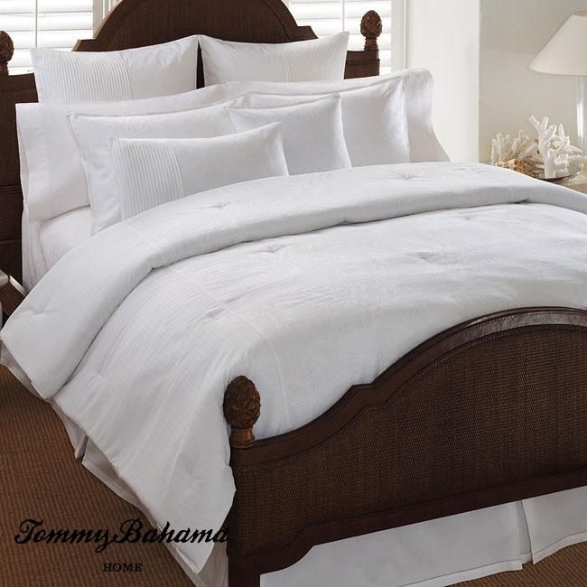 Tommy Bahama Breezeway Palm California King-size 4-piece Comforter Set