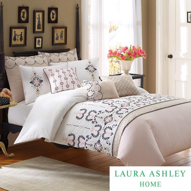 Laura Ashley Yardley King-size 3-piece Duvet Cover Set