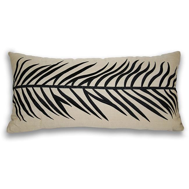 Largo Fern Leaf Throw Pillow