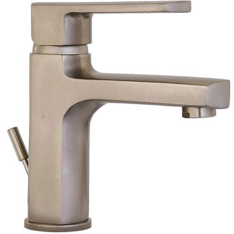 LaToscana Novello Brushed Nickel Single-handle Bathroom Faucet