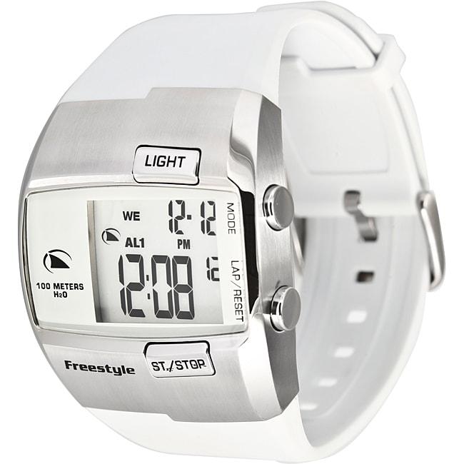 Freestyle Men's 'Durbo' Steel and Polyurethane Digital Watch
