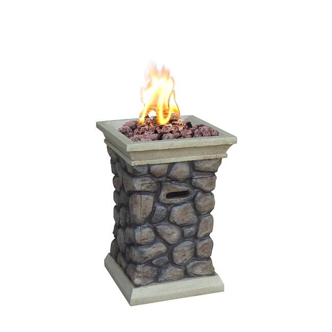 Tuscan Ridge Envirostone 20-pound Outdoor Gas Fire Bowl