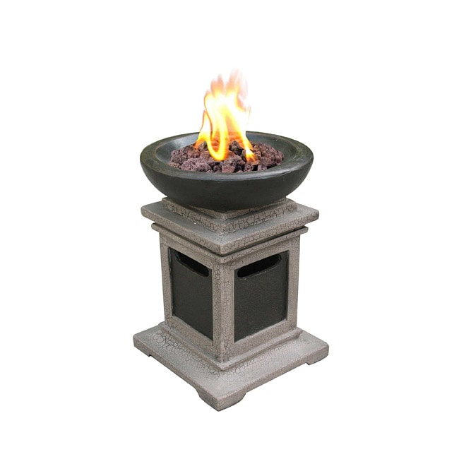 Ravenswood Envirostone Outdoor Gas Tabletop Fire Bowl