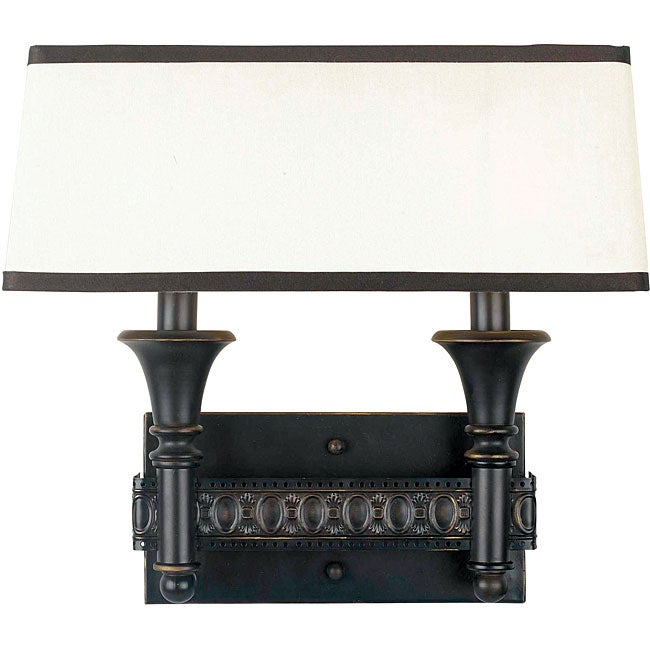 World Imports Manhattan Collection 2-light Wall Sconce