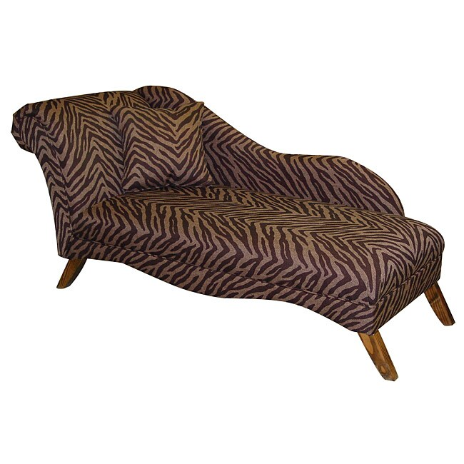 Made To Order  Upholstered Bam Zizi Espresso Chaise