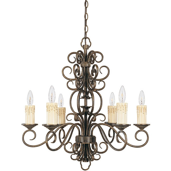 World Imports Sheffield Collection 6-light Chandelier