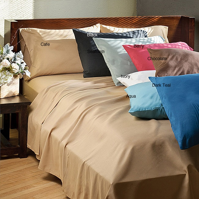 Elegance Microfiber Full-size Sheet Set - Thumbnail 0