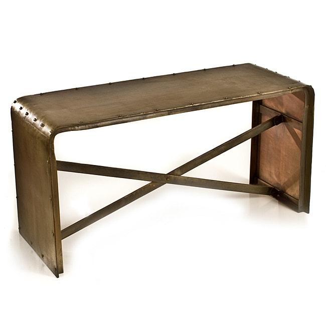 Antique Br Lacquer Low Sofa Table
