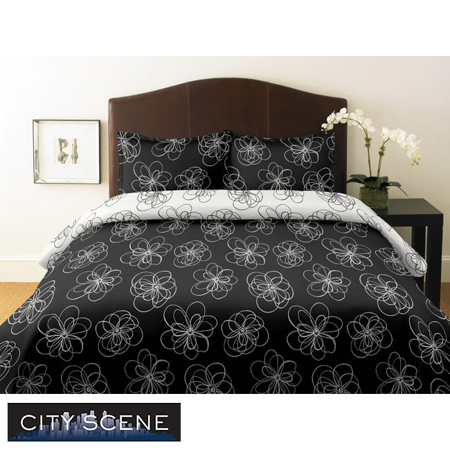 City Scene Luna 3-piece King-size Comforter Set