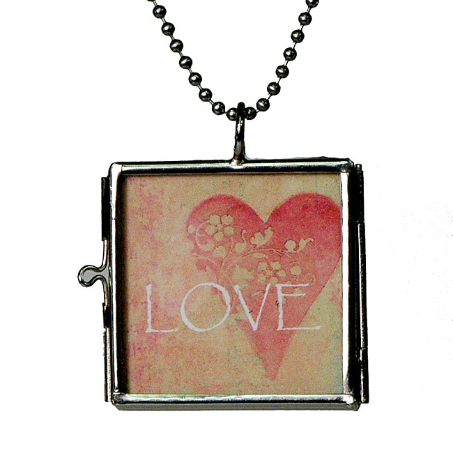 Lola's Jewelry Hinged Picture Frame Charm Necklace