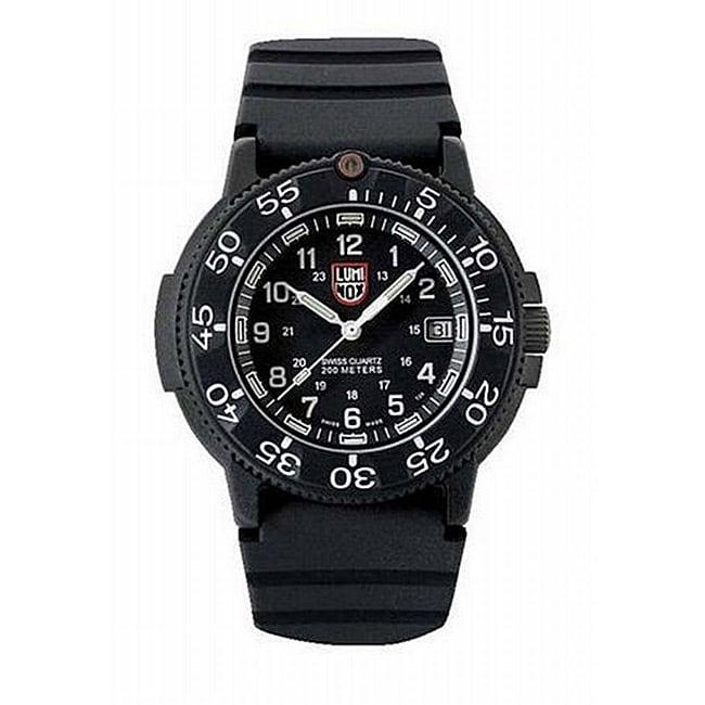 Luminox Men's Original Navy Seals Diver Series Watch, Bla...