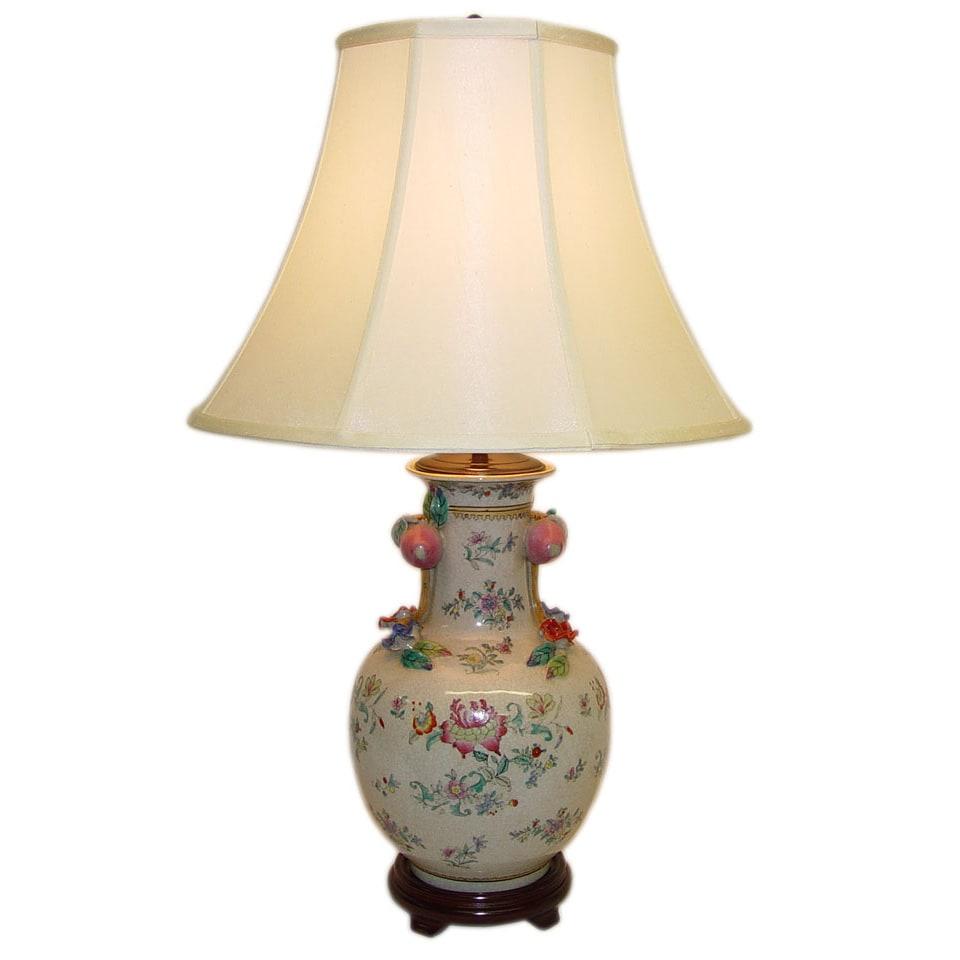 Flower Vase Porcelain Table Lamp
