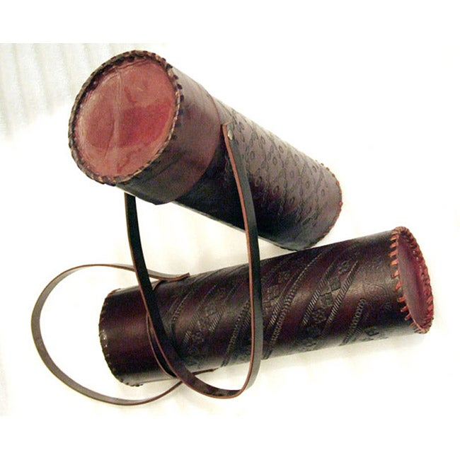 Leather Wine Box (India)