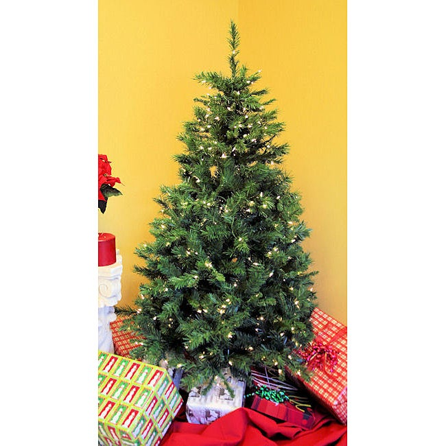 Duchess Spruce 7-foot Pre-Lit Artificial Christmas Tree