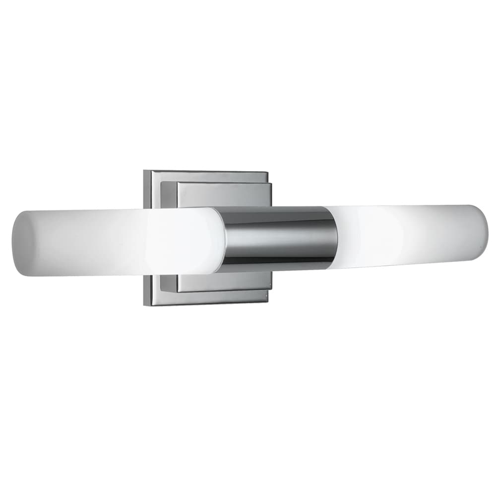 Taylor 2-light Chrome Vanity