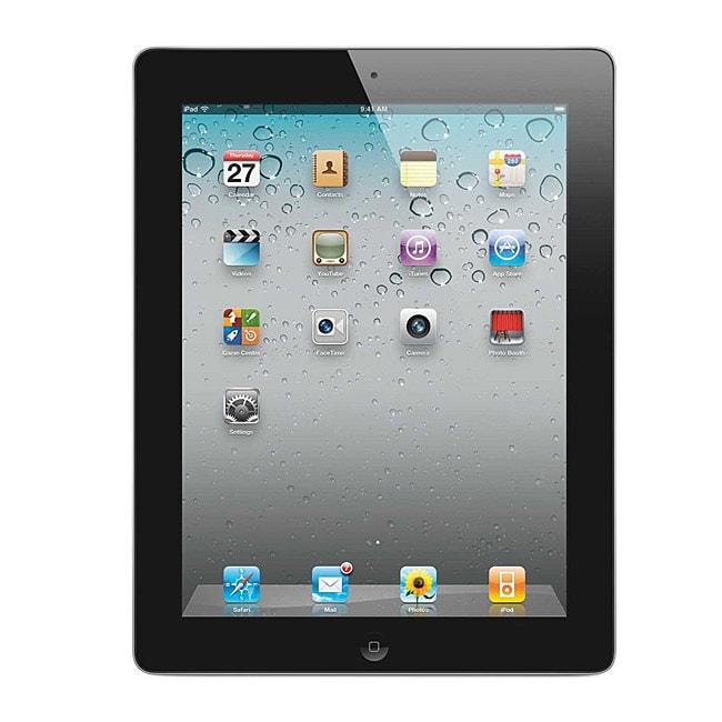 Apple iPad 2 16GB Wi-Fi + 3G AT&T Black (Refurbished)