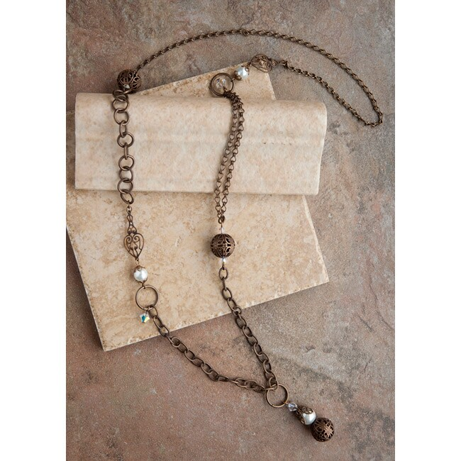 Brass Classic Vintage Chain Necklace