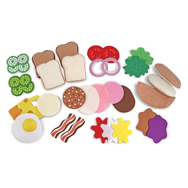 Melissa & Doug Felt Food Sandwich Play Set