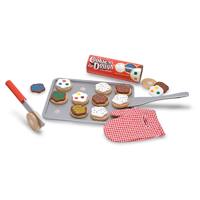 Melissa & Doug Slice and Bake Cookie Play Set - Thumbnail 0