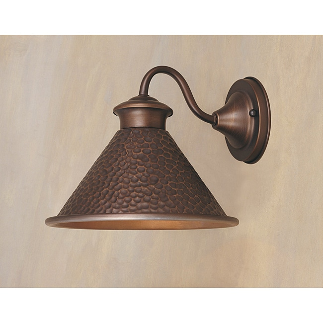 World Imports Dark Sky Essen 9-inch Single Light Short Arm Wall Sconce