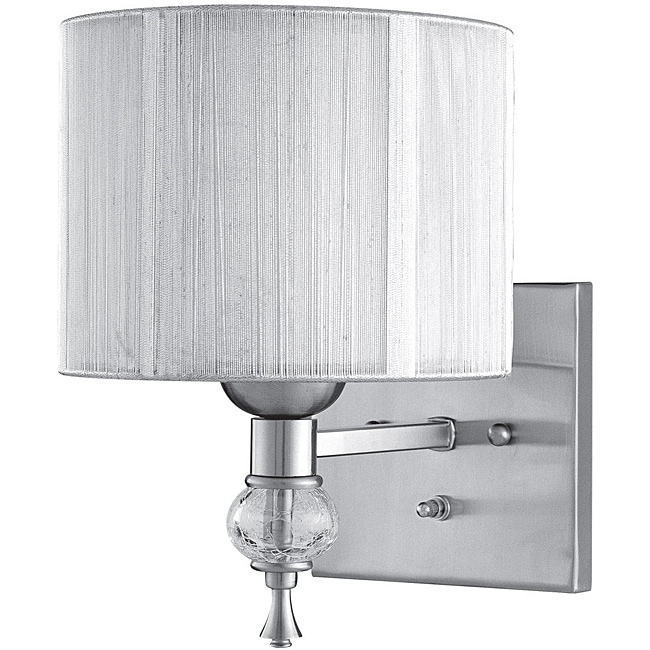 World Imports Bayonne Collection Single Light Wall Sconce