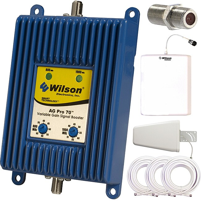 Wilson Electronics 801265 AG Pro 70 Signal Booster Complete Kit