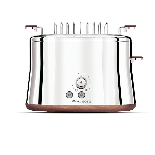 Krups Silver Art 2-slice Toaster with Bun Warmer
