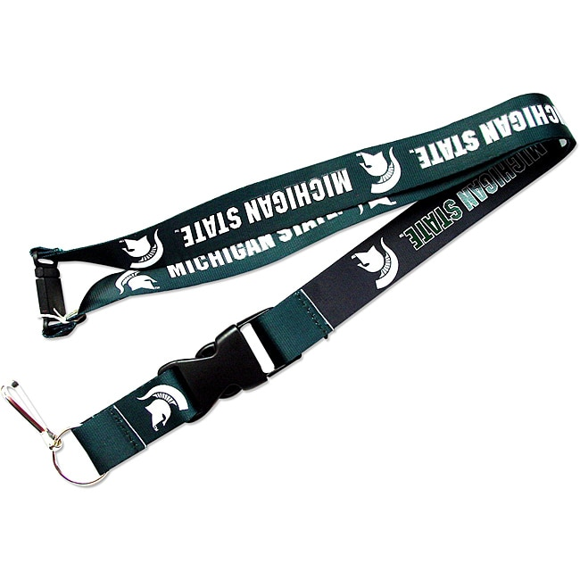 Aminco International Michigan State Spartans Reversible Clip Lanyard