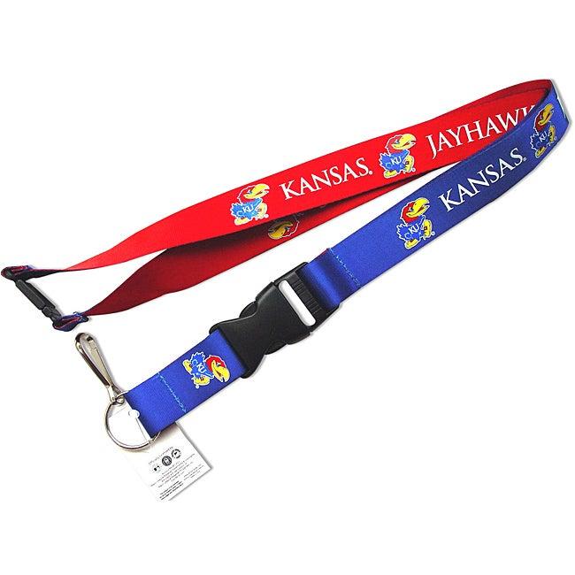 Aminco Kanas Jayhawks Reversible Clip Lanyard