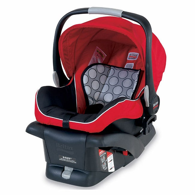 Britax B-Safe Infant Child Seat in Red