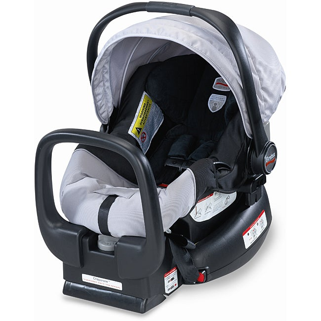 Britax Chaperone Infant Child Seat in Black & Silver
