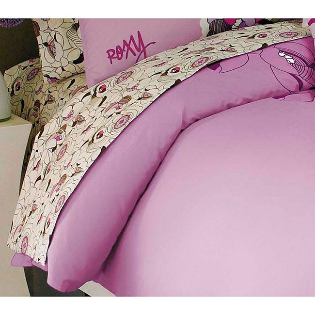 Roxy Hot House Floral Cotton 200 Thread Count Full-size Sheet Set