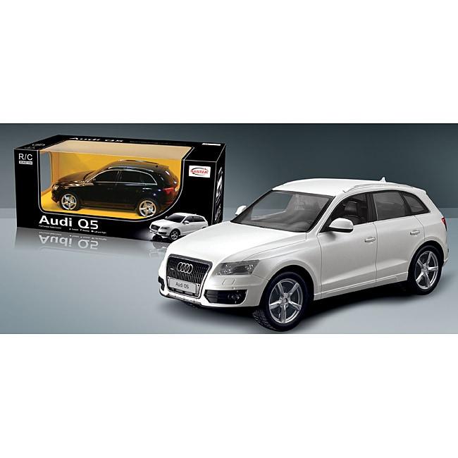 1:28 Scale Silver Audi Q5 RC Car