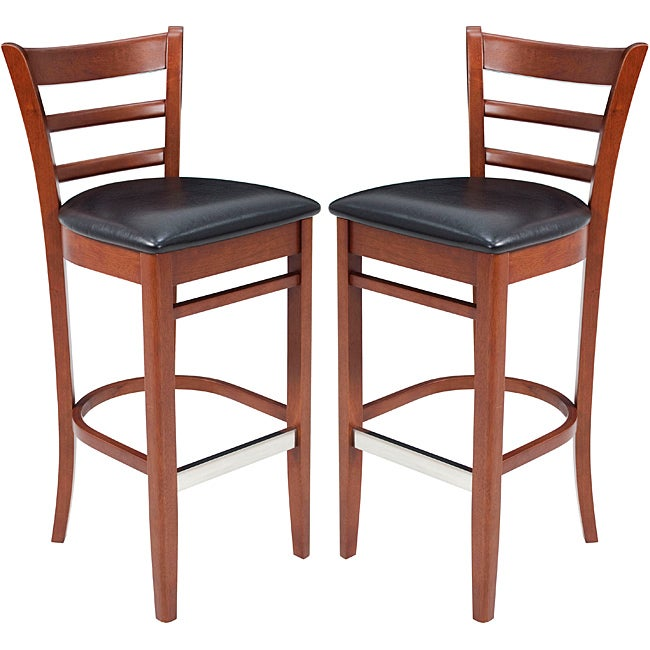 Shop Zoe Bistro Cafe Stools Set Of 2 Free Shipping