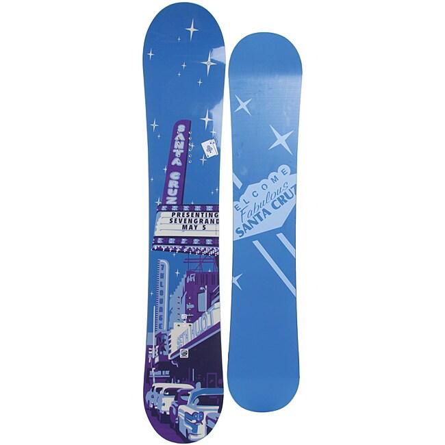Santa Cruz Men's Blue Seth Huot Pro TT 155cm Snowboard