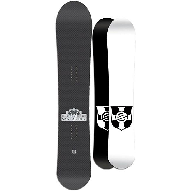 Santa Cruz Men's Black Twinza Platinum 159cm Snowboard