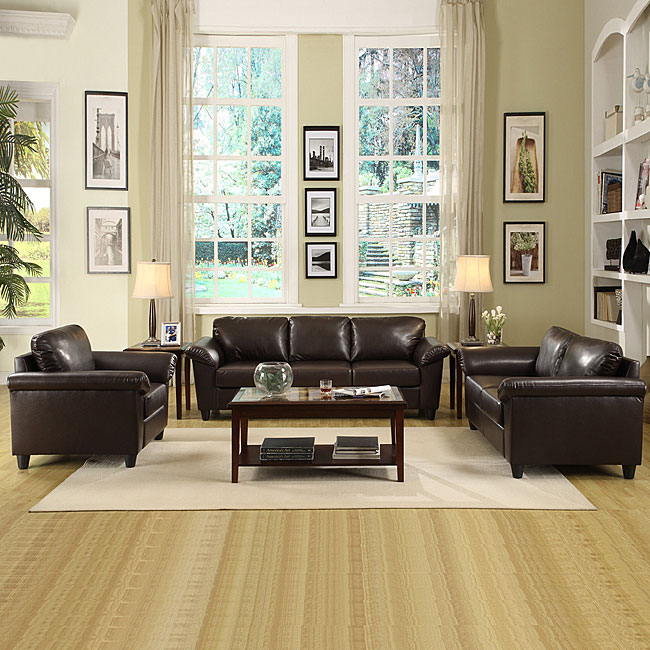 Lucia 3-piece Chair/ Loveseat and Sofa Sets