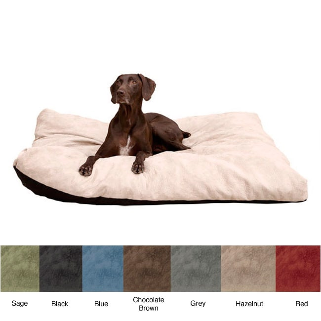 Extra-large Stuffy Fluffy Memory Foam Dog Bed with Washable Cover