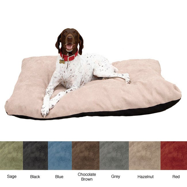 Stuffy Fluffy Large Memory Foam Dog Bed - Thumbnail 0